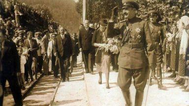 Как цар Борис III подкара теснолинейка до гара Белица