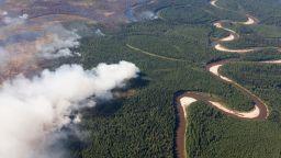 След наводненията, огромни пожари заплашват сибирската тайга
