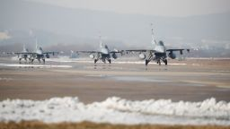 Пратили сме писмо-заявка за евентуално придобиване на още 8 изтребителя F-16