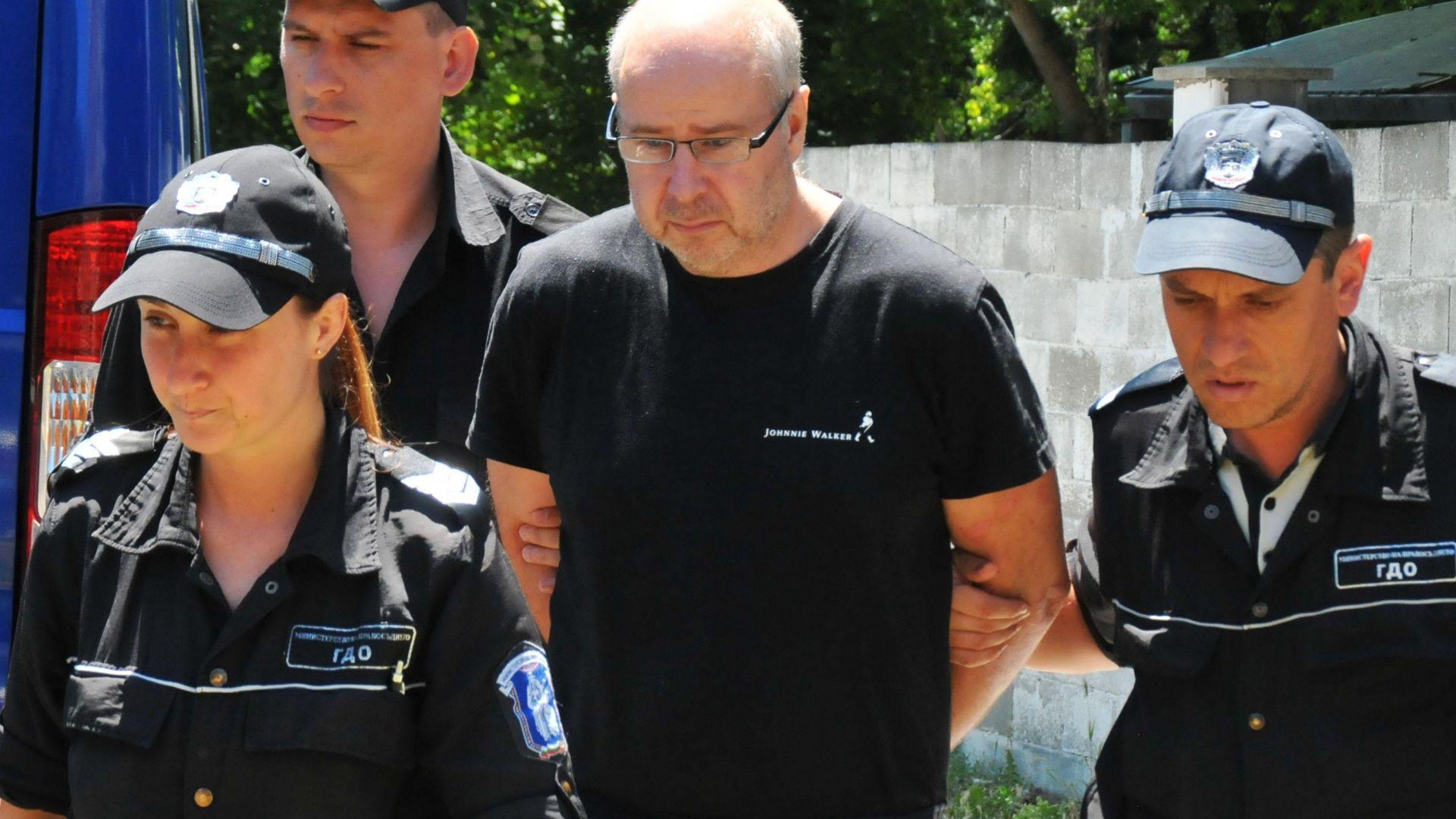 Шведът Ралф Сундберг, който ритна камериерката Диана Петкова докато чисти