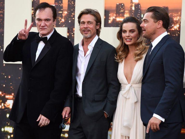 """Марго Роби с впечатляваща рокля на премиерата на """"Имало едно време в Холивуд"""""""