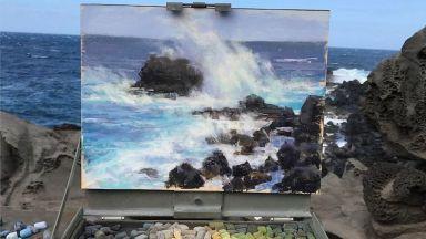 Художник вгражда невероятни пастели във вълнуващи природни пейзажи