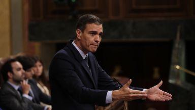 Педро Санчес загуби първия вот на доверие в испанския парламент