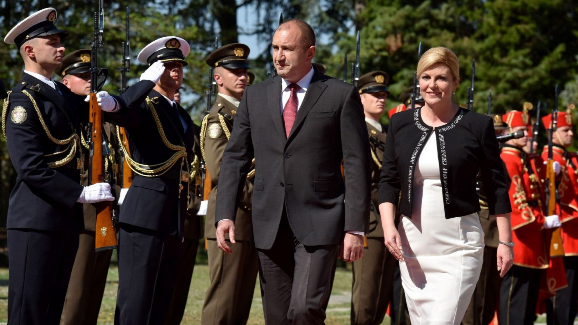 Засилваме партньорството с Хърватия в сферата на сигурността и отбраната