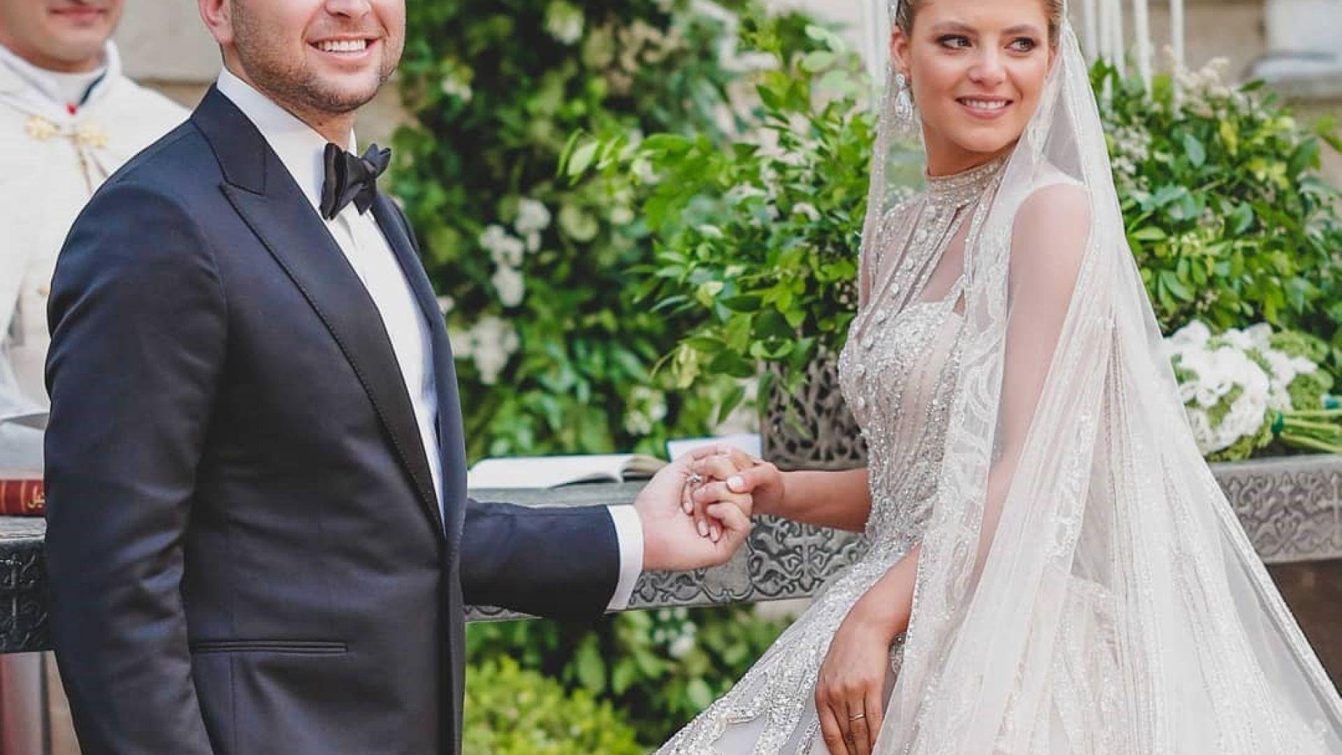 Ели Сааб-младши и Кристина Мурад