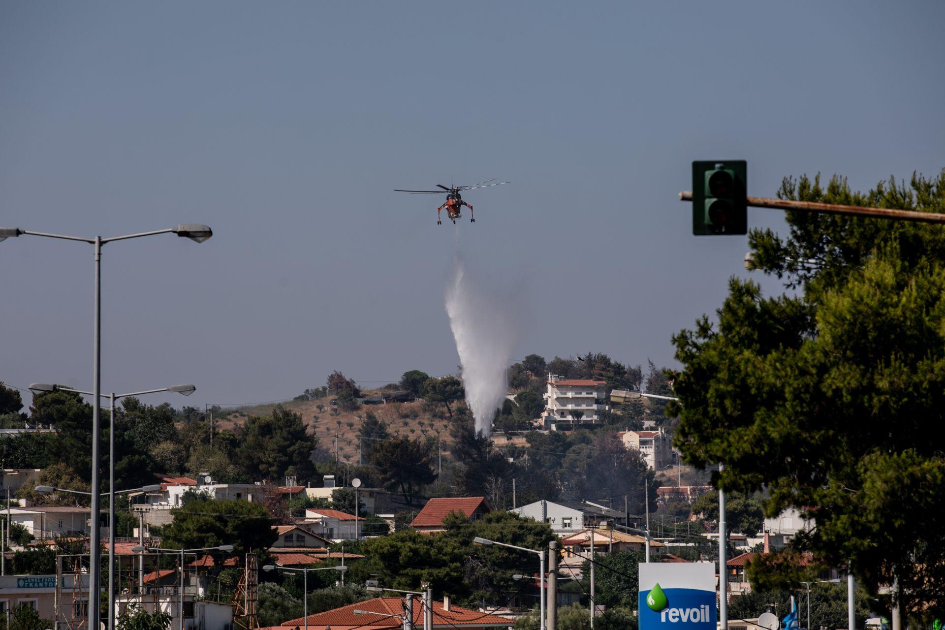 Нов пожар избухна край Атина, година след трагедията