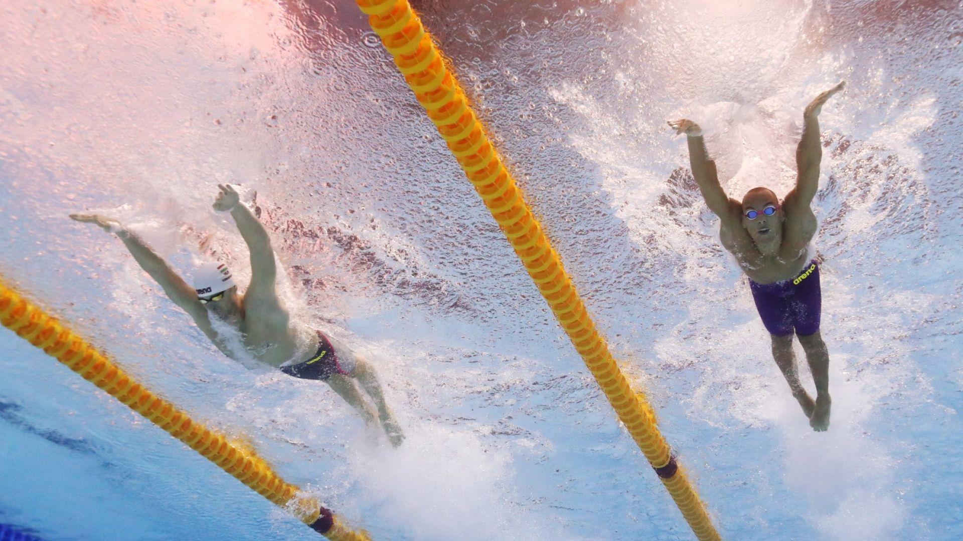 Антъни Иванов е девети в света на 200 метра бътърфлай