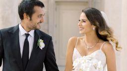 Синът на Робин Уилямс се ожени на рождения ден на покойния си баща (снимки)