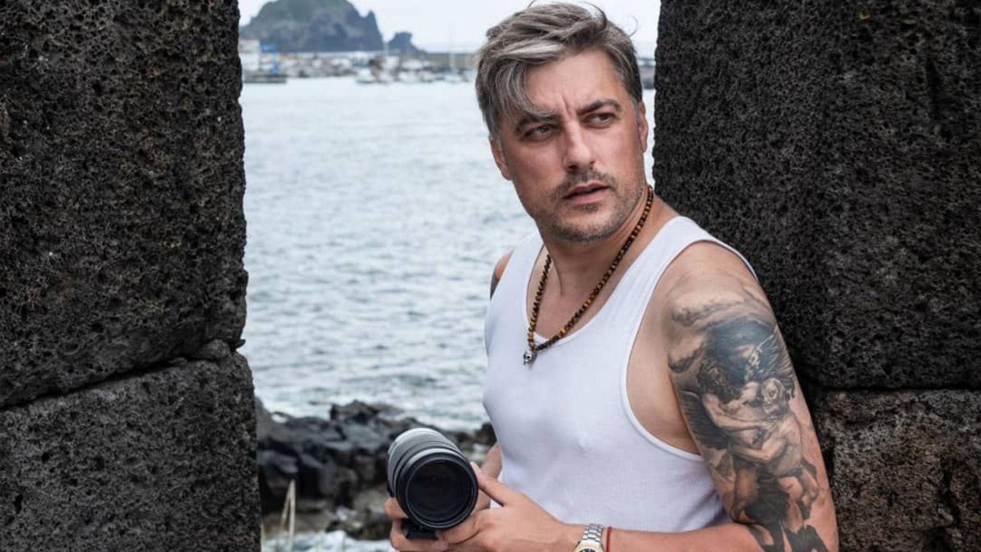 Владо Карамазов се отдаде на своя страст на Азорските острови