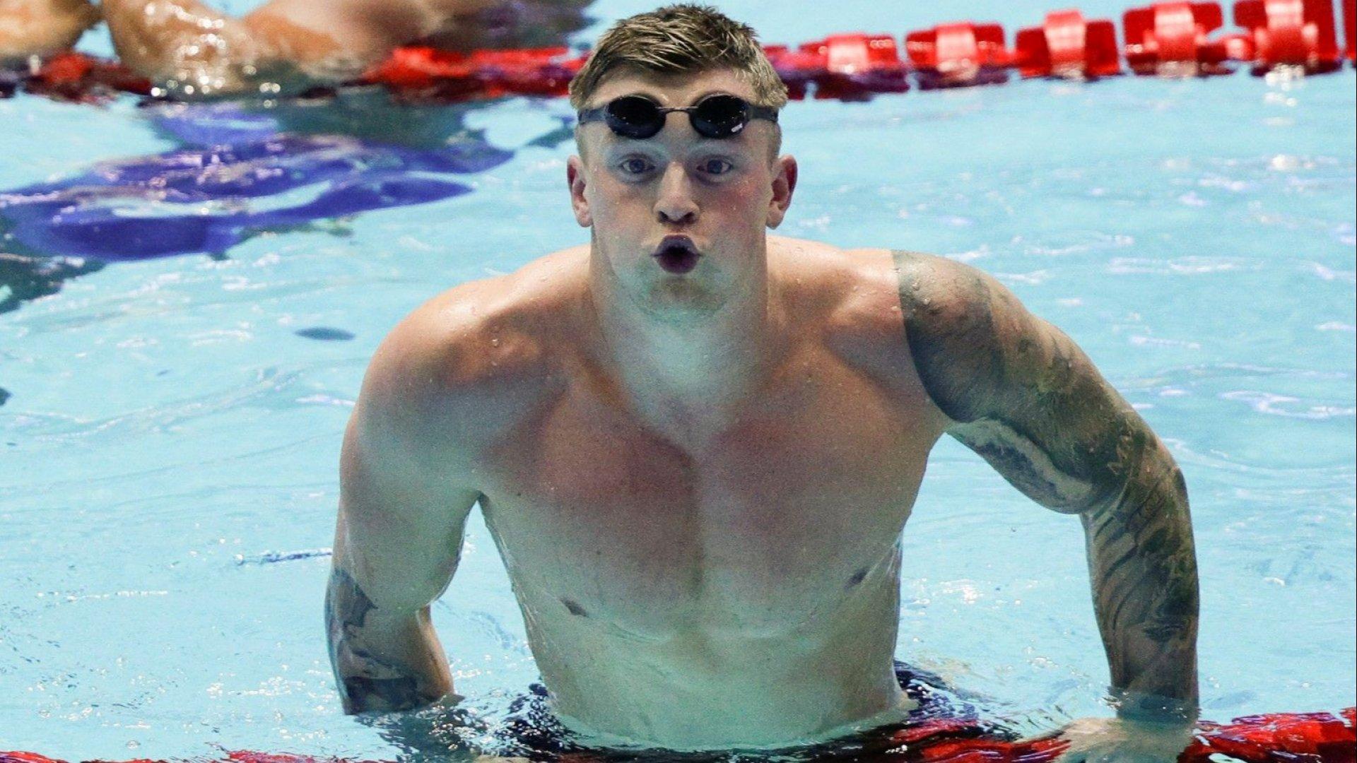 Адам Пийти счупи 11-годишен световен рекорд в плуването