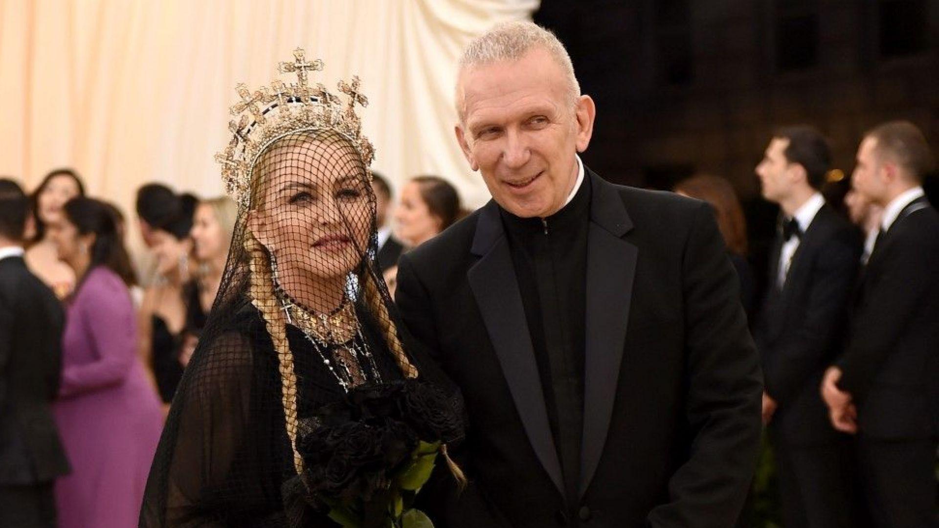 Жан-Пол Готие: Три пъти предлагах брак на Мадона