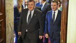 Горанов и Каракачанов: Ако президентът налага вето на бюджета за F-16, ще го преодолеем