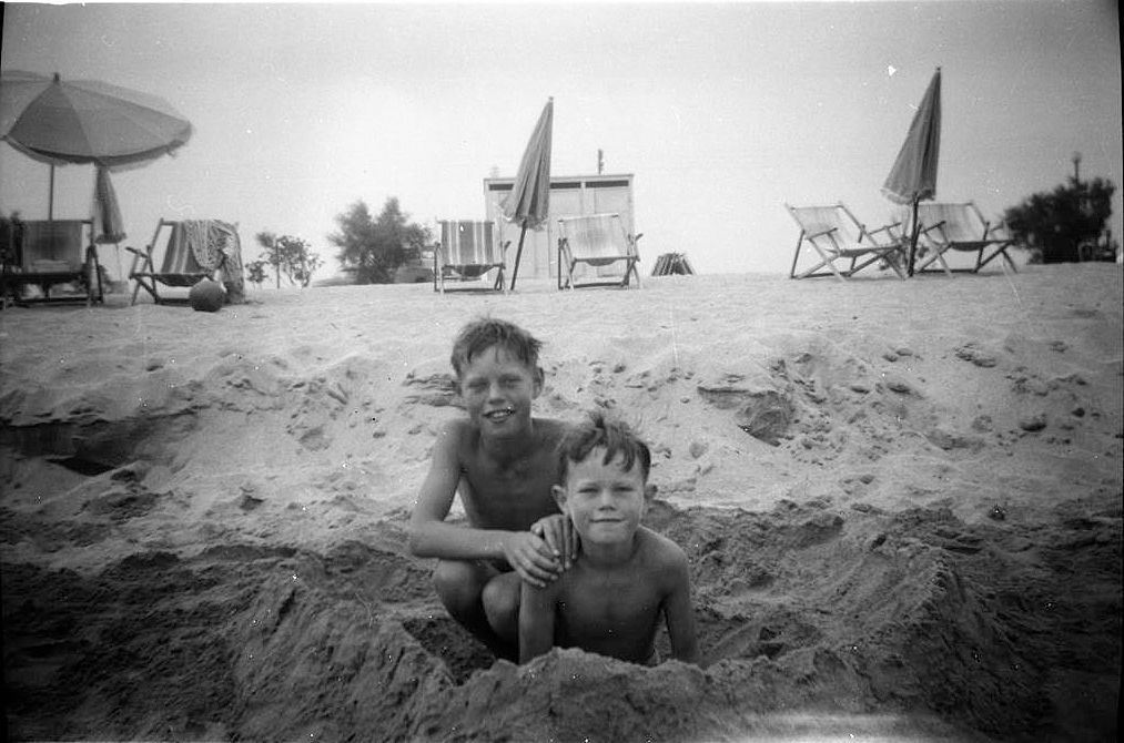 Мик Джагър и брат му Крис