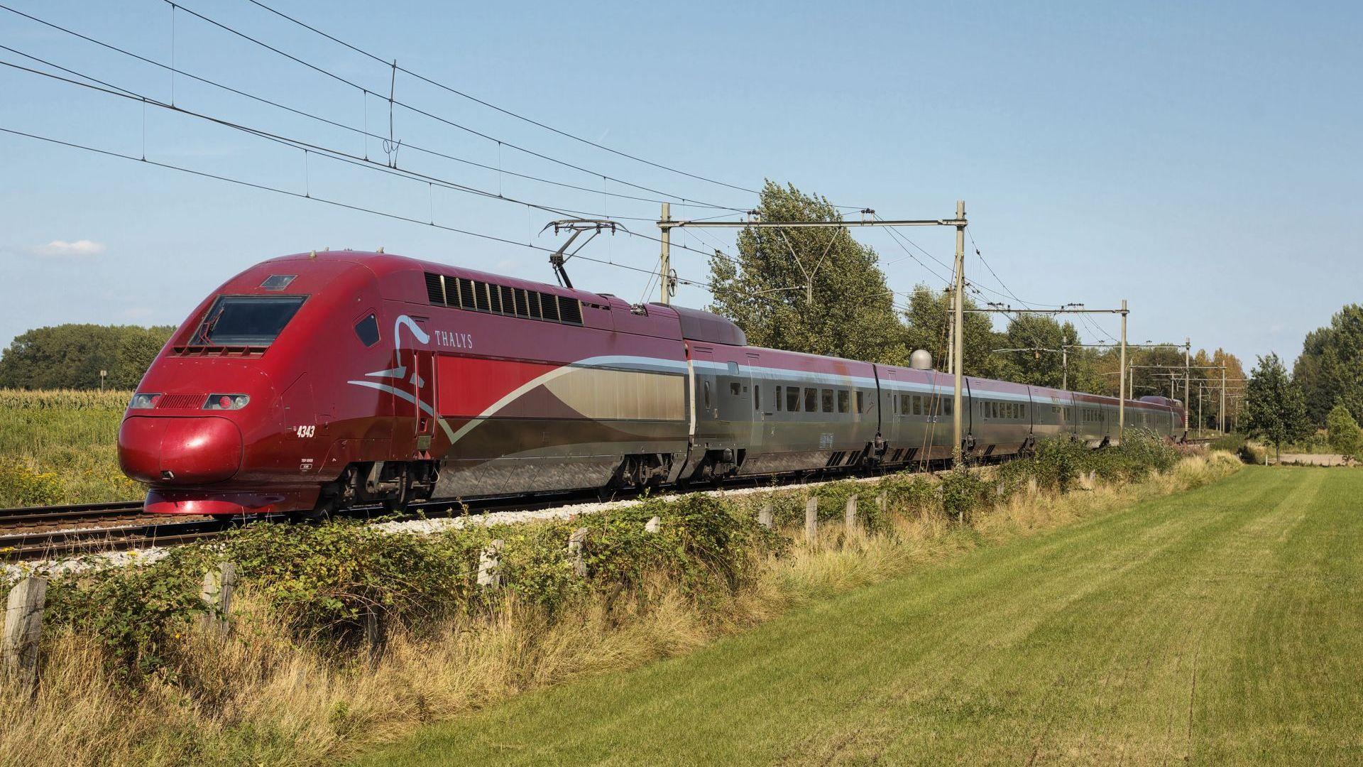 Спират влаковете между Франция и Белгия заради жегите