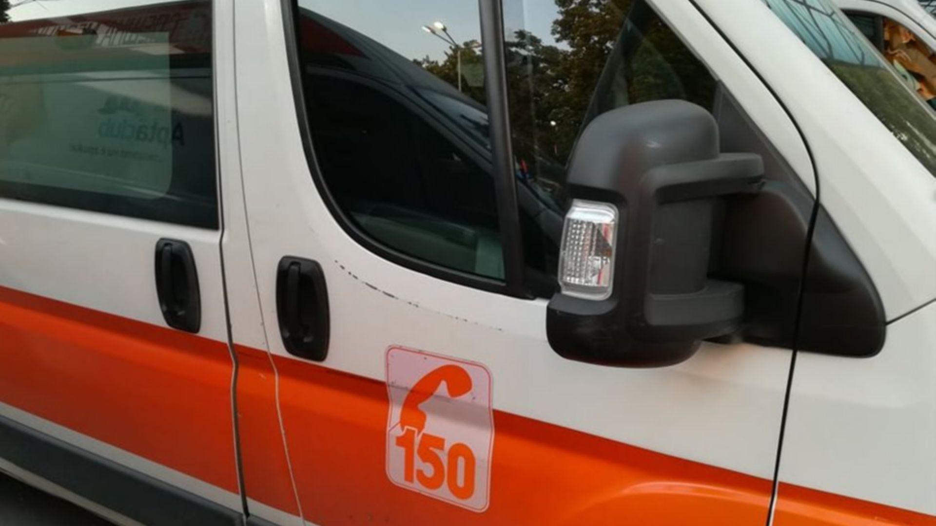 Дете е с опасност за живота след тежка катастрофа във Варненско