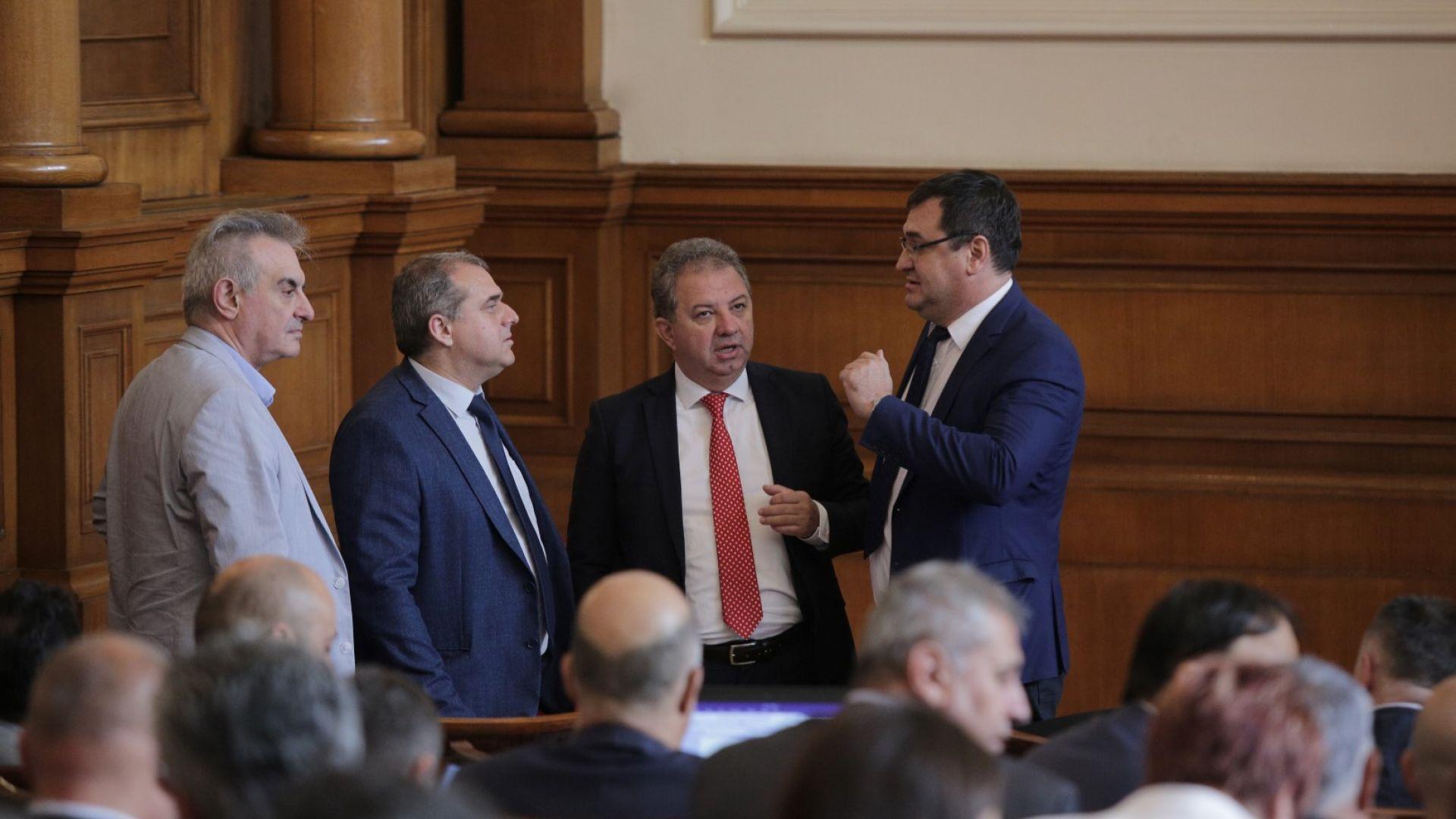 Нов раздор във властта: Патриотите обявиха, че ГЕРБ са денонсирали коалиционното споразумение