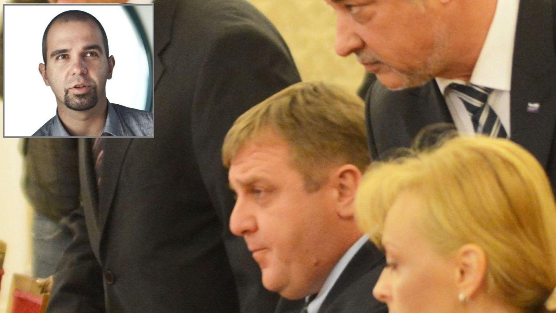 Първан Симеонов пред Dir.bg: Бойко Борисов по-лесно менажира патриотите, когато са разделени