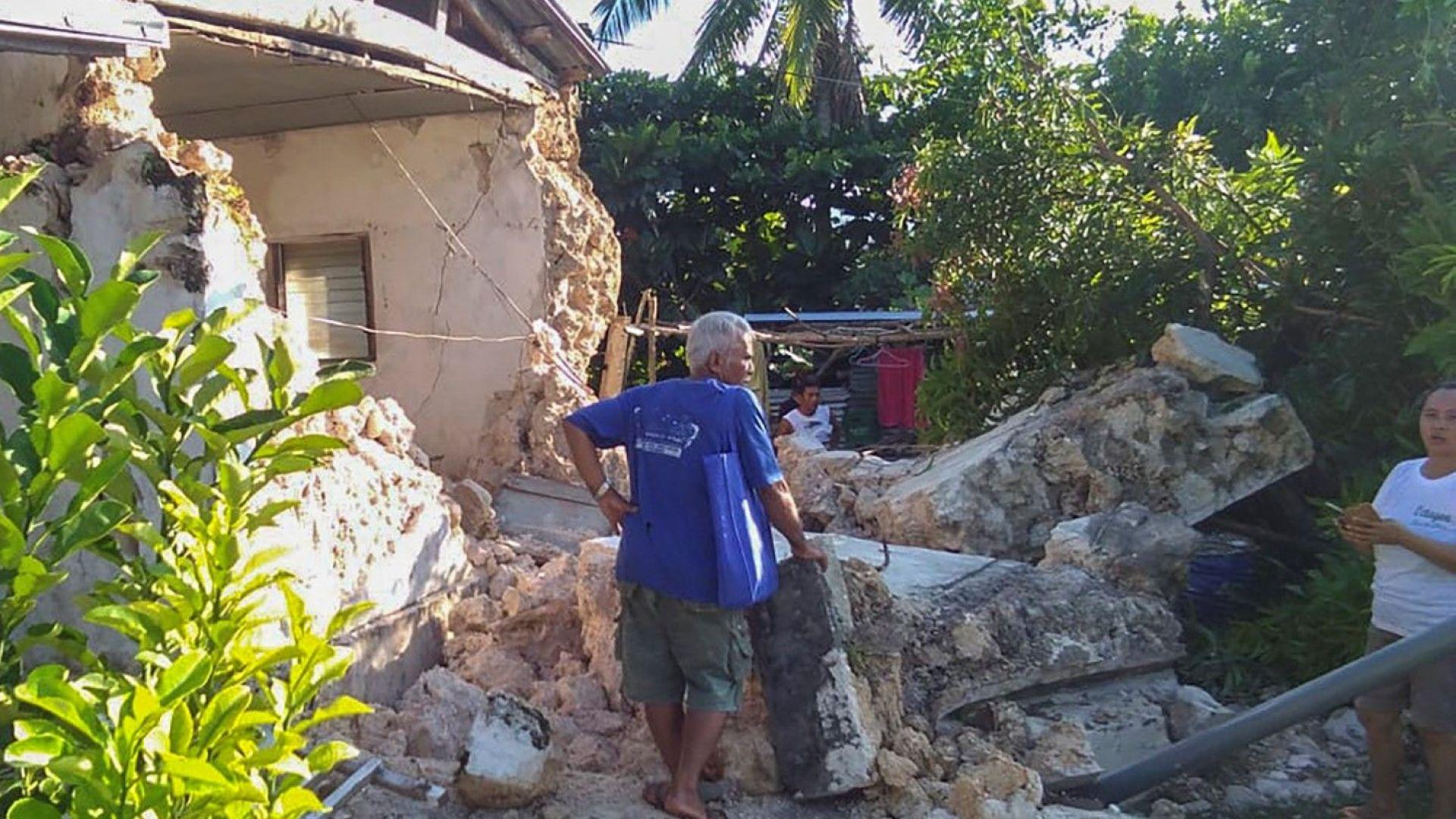 Две силни земетресения взеха 8 жертви  в северната част на Филипините