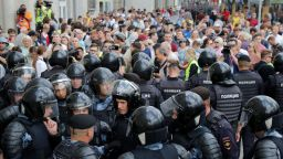 Осем души арестувани на шествие в Москва
