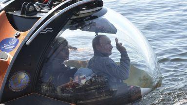 Путин слезе с батискаф на дъното на Финския залив