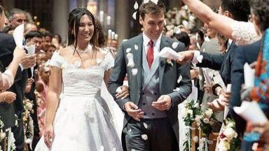 Внукът на Грейс Кели се ожени на пищна церемония
