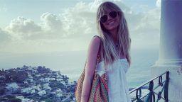 Хайди Клум пристигна на о-в Капри за сватбата си