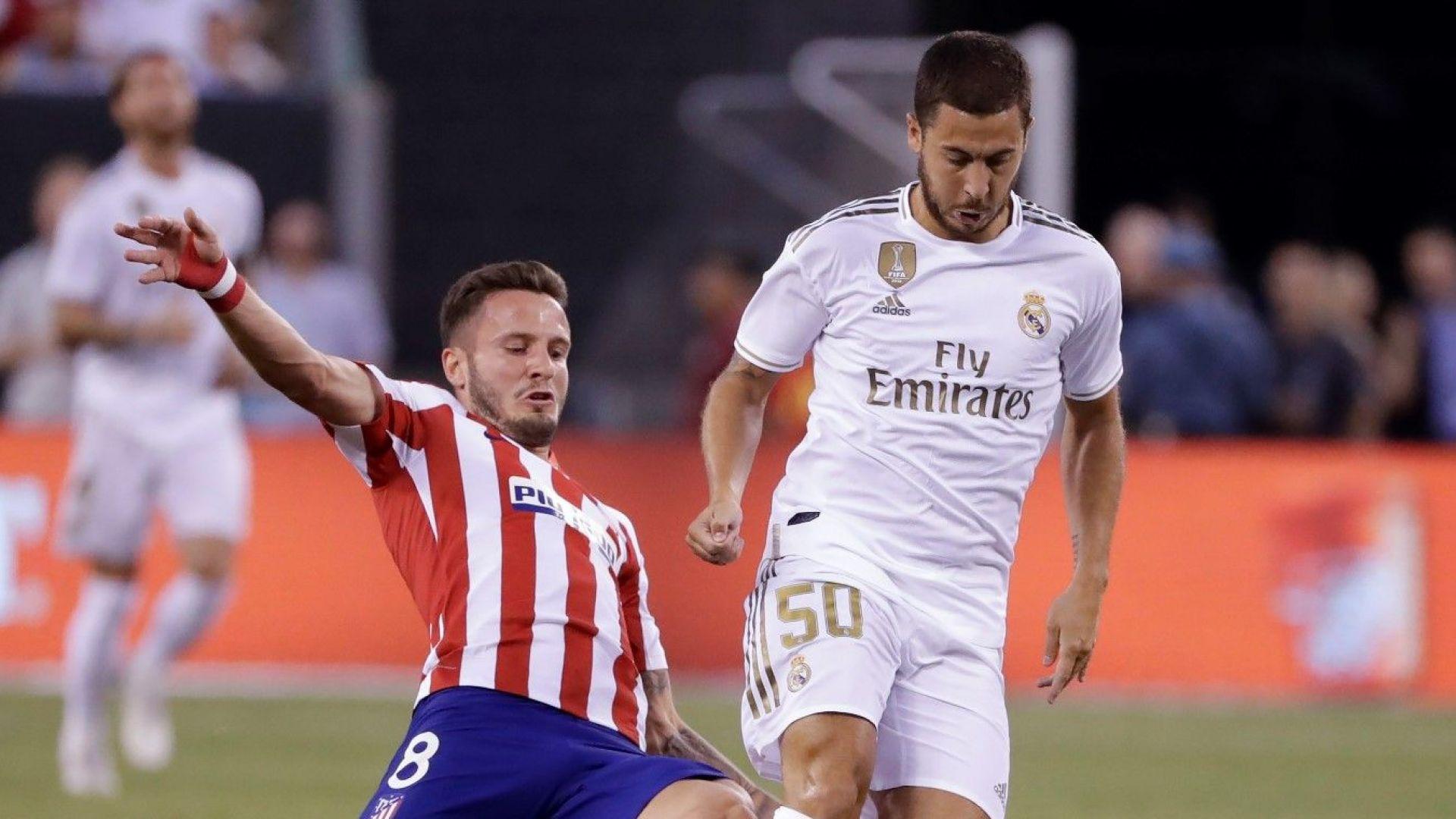 Още проблеми за Реал: Азар се явил с наднормено тегло