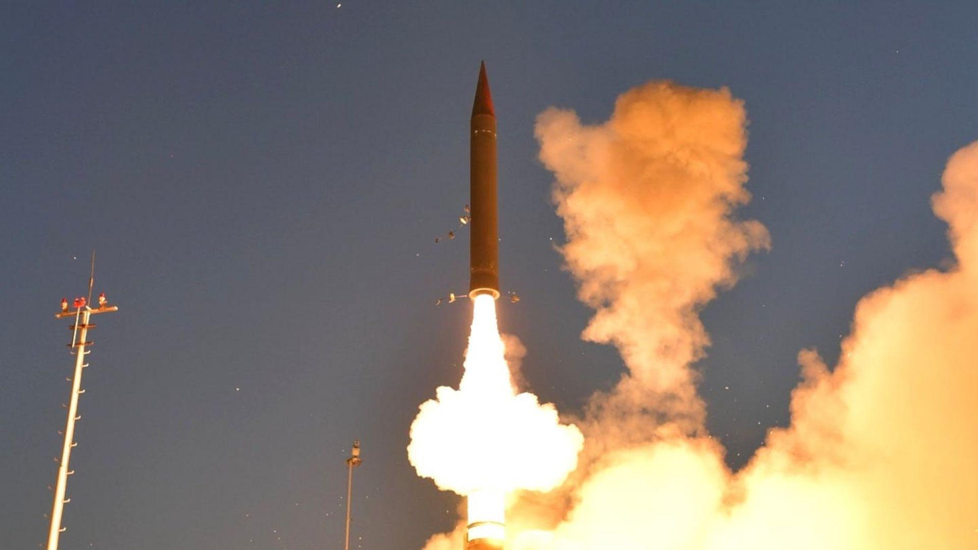 Израел тества бойна ракета в Аляска