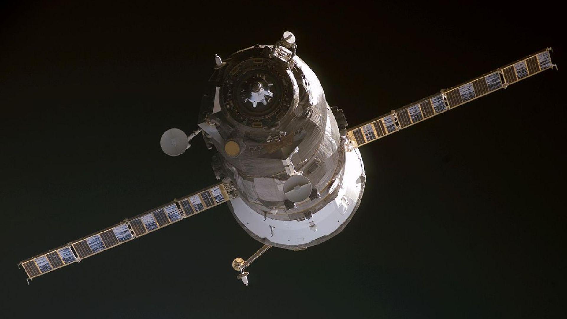 """""""Прогрес МС - 14"""" измина за рекордно кратко време разстоянието от Земята до МКС"""