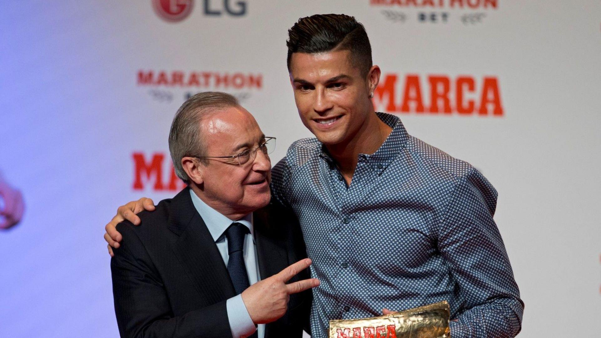 Изтекоха скандални цитати на Флорентино, обижда Роналдо и легенди на Реал