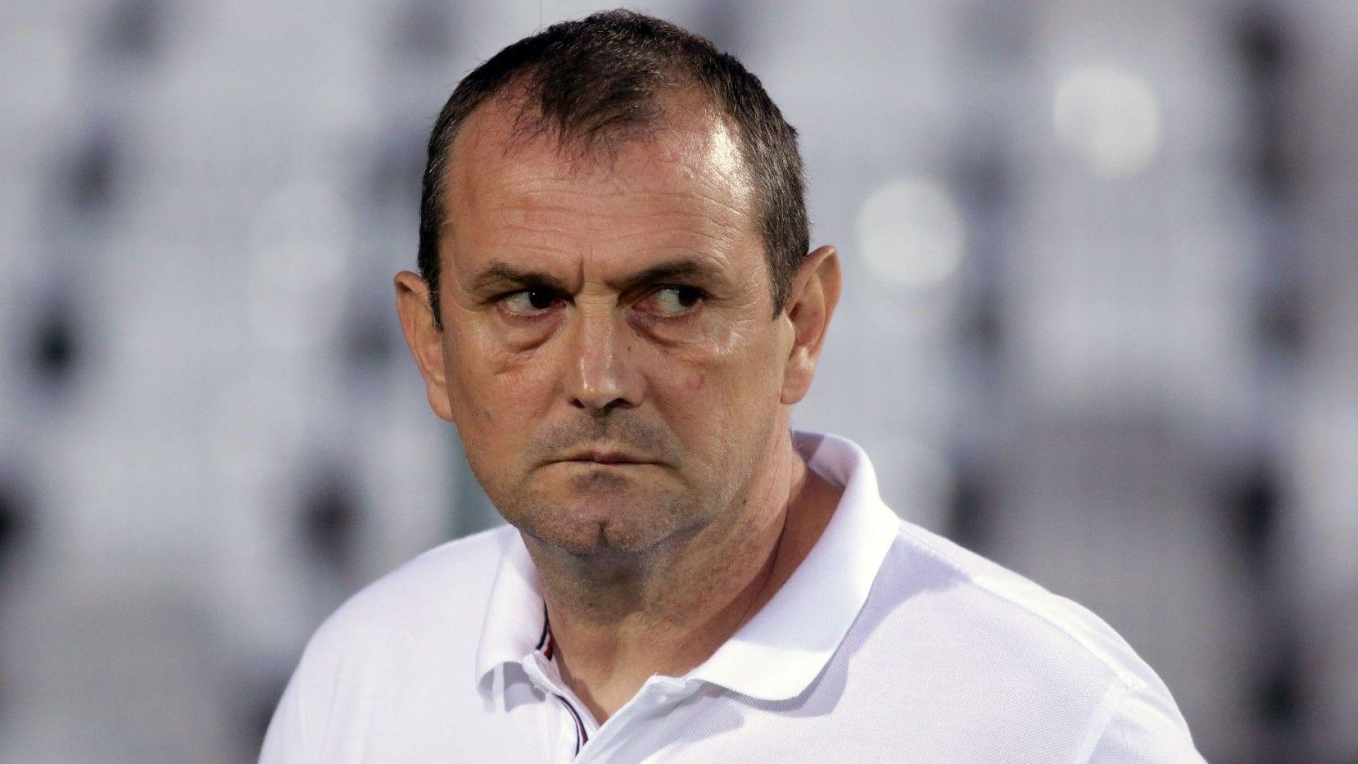 Треньорът на Славия категоричен: Хвърлихме се здраво на ЦСКА
