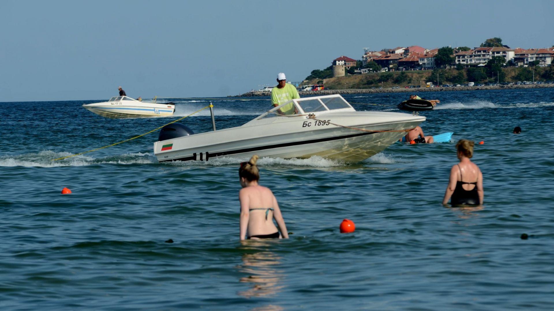 Турист хвърли в морето край Слънчев бряг камера на датската национална телевизия