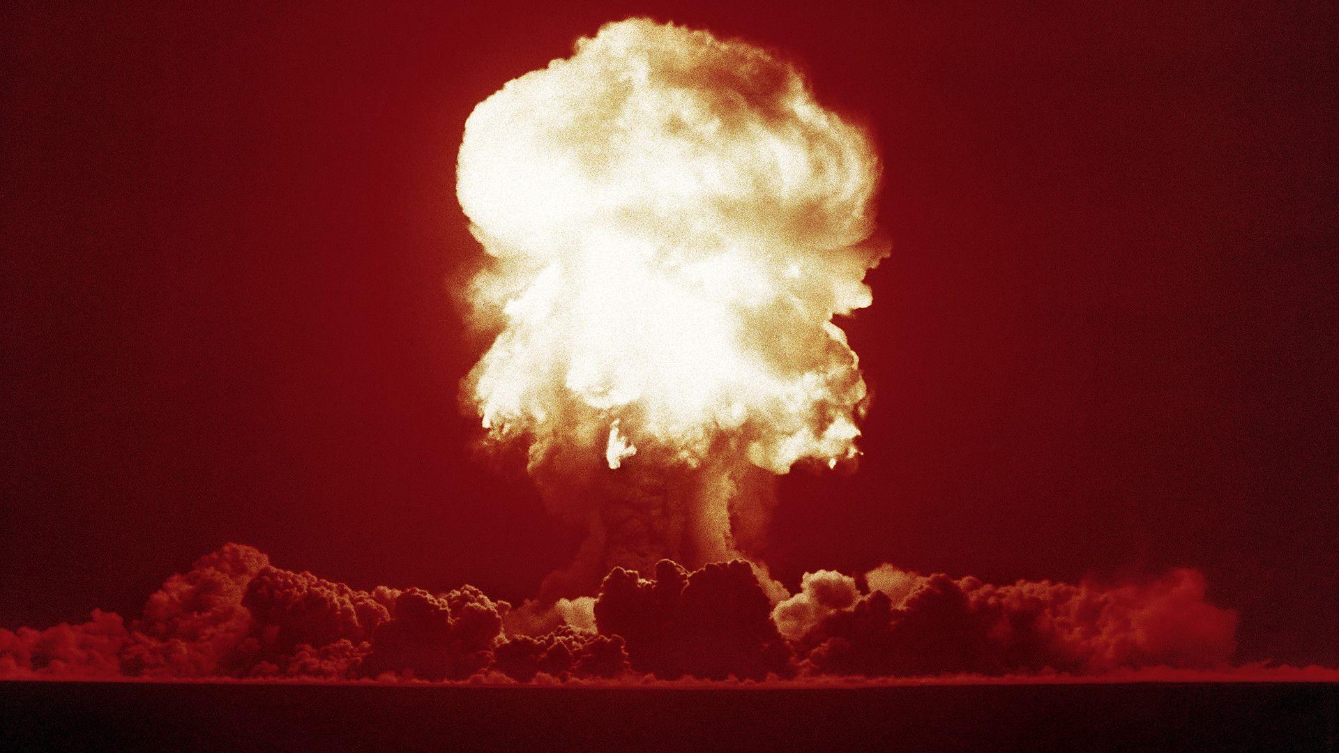 Разсекретиха видео от най-мощния ядрен взрив в историята
