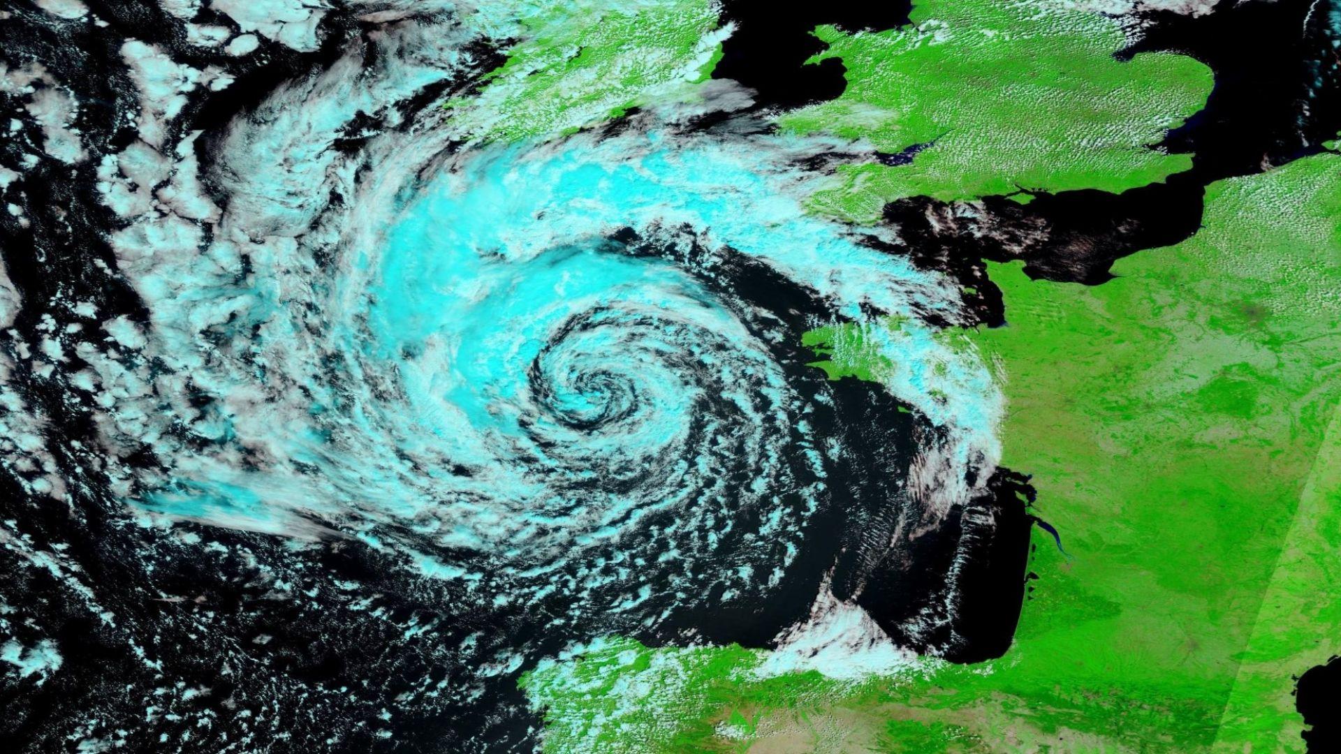 Глобалното затопляне ражда нов тип чудовища - циклонът Волфганг