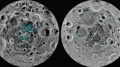 Специалисти откриха какво е лъскавото гелоподобно вещество на далечната страна на Луната