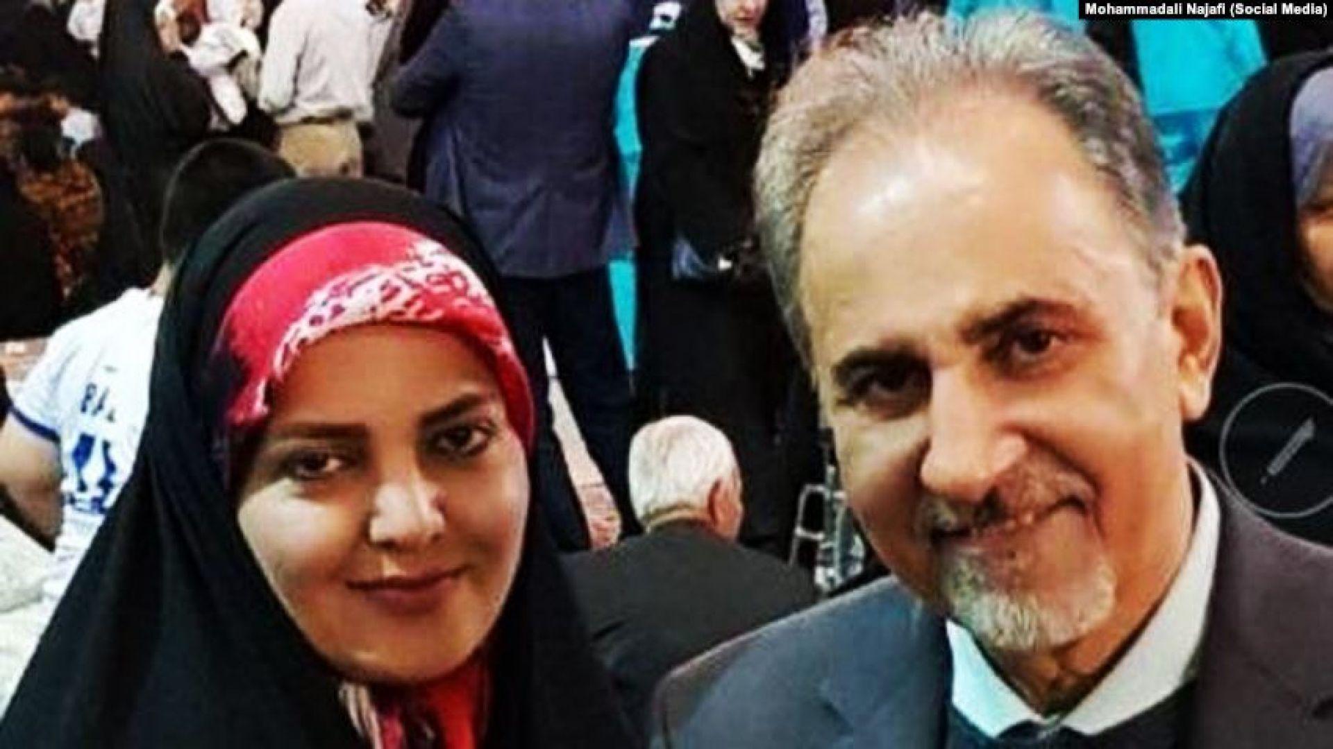 Бившият кмет на Техеран е осъден на смърт за убийството на съпругата му