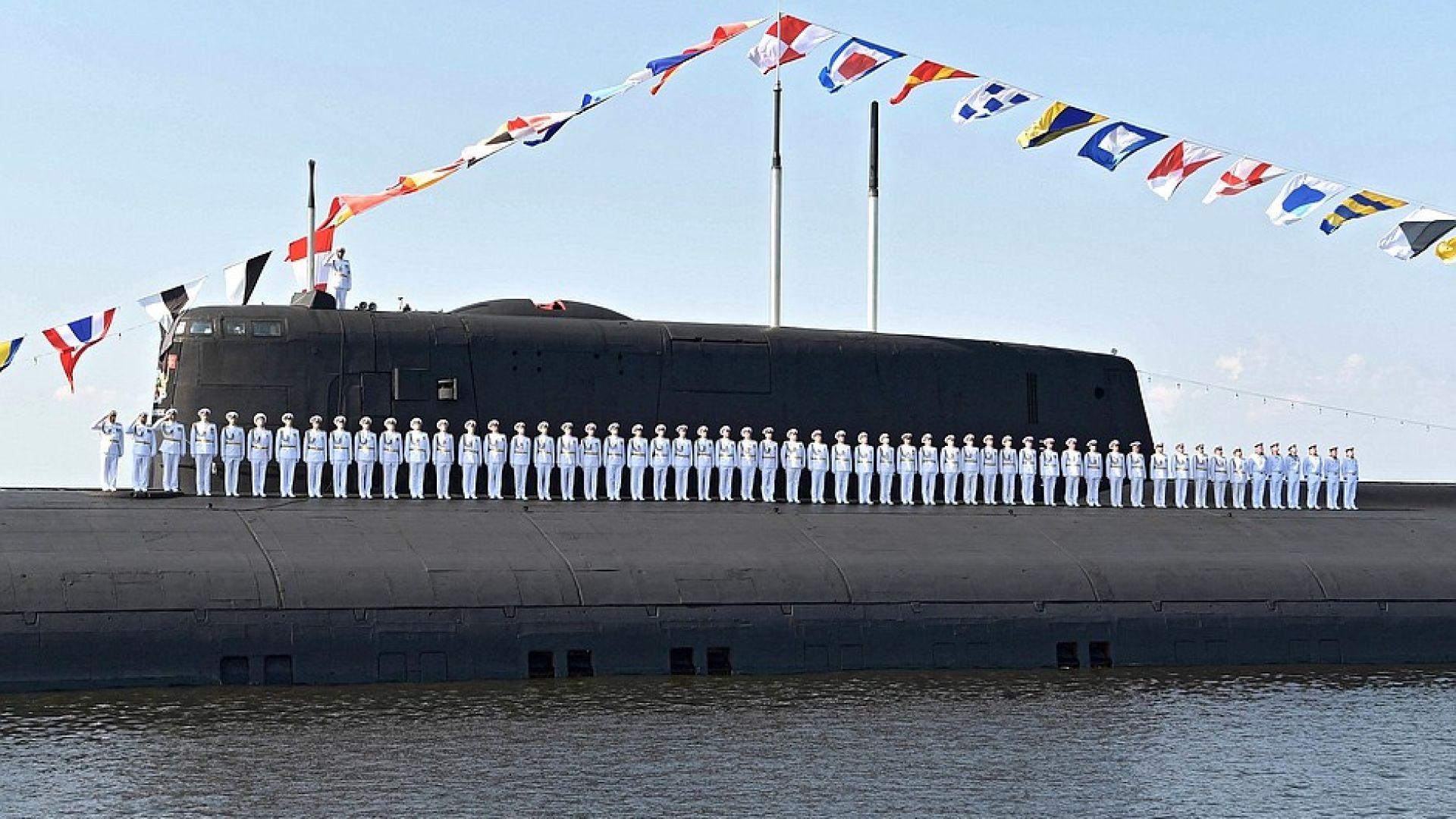 Русия прави най-дългата подводница в света