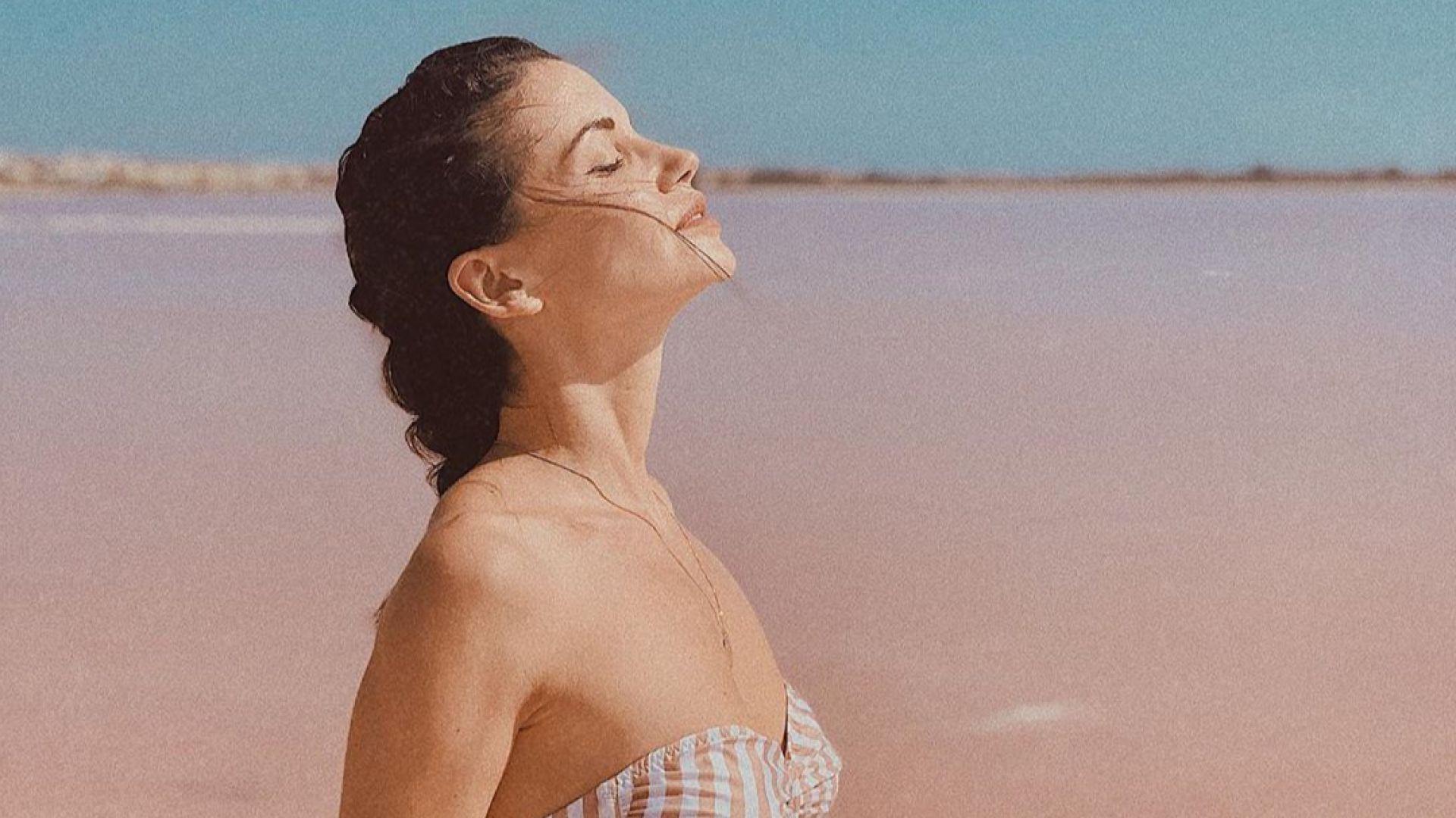 Диляна отиде там, където природата гледа през розови очила
