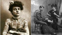 Историята на първата жена-татуировчик в Америка