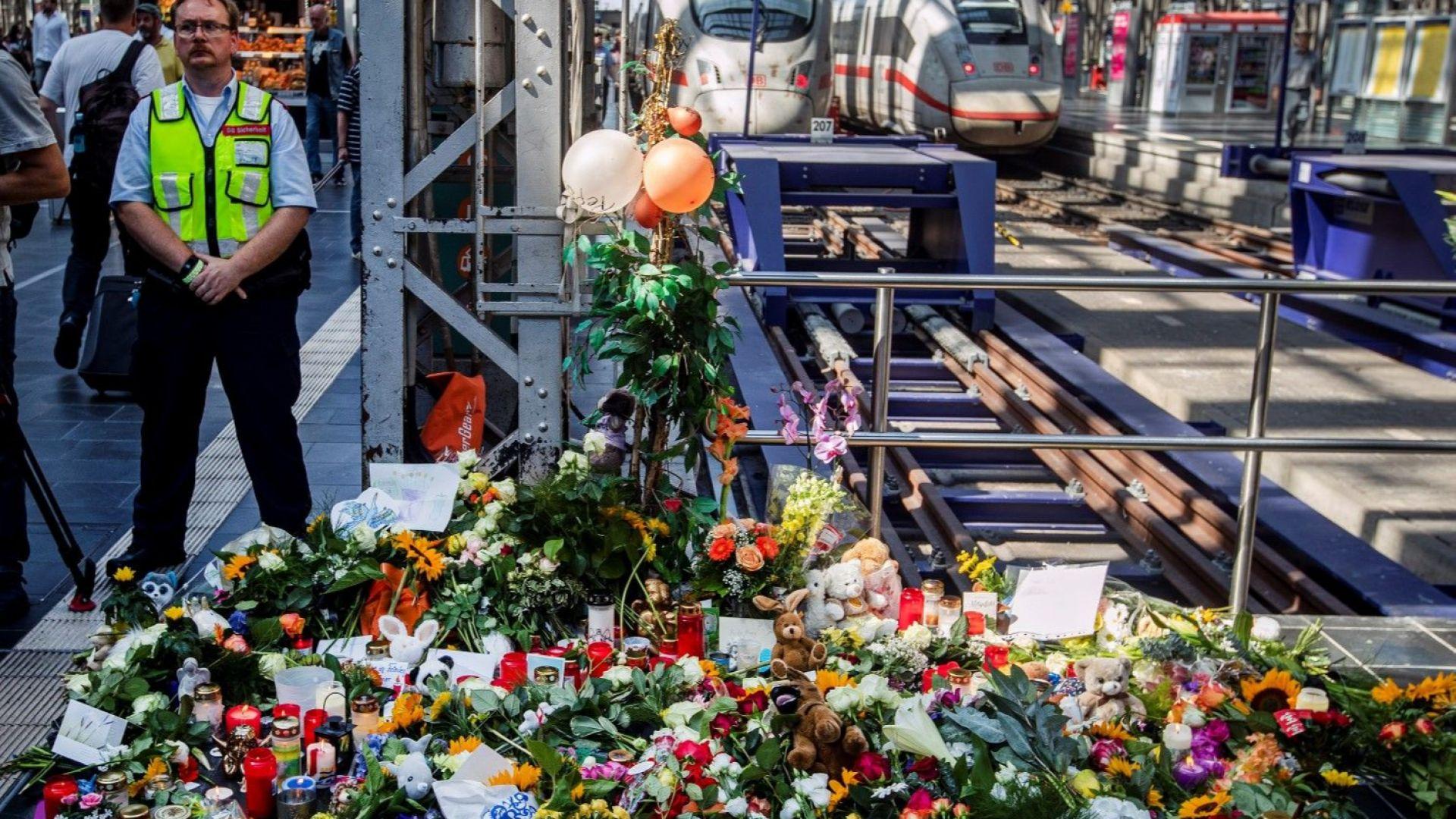 Заподозреният за убийството на дете на гара във Франкфурт е бил издирван от швейцарската полиция