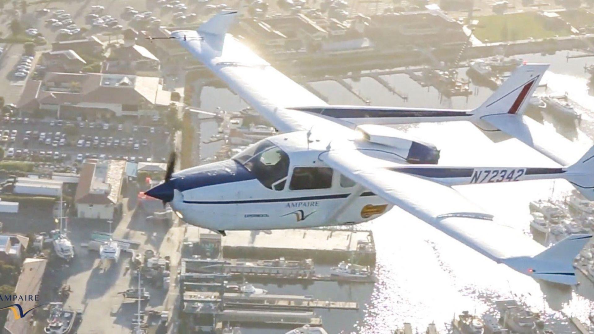 US фирма пуска самолети с хибриден двигател до края на годината