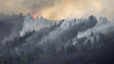 Сибир е в пламъци, задушлив дим обхвана стотици населени места
