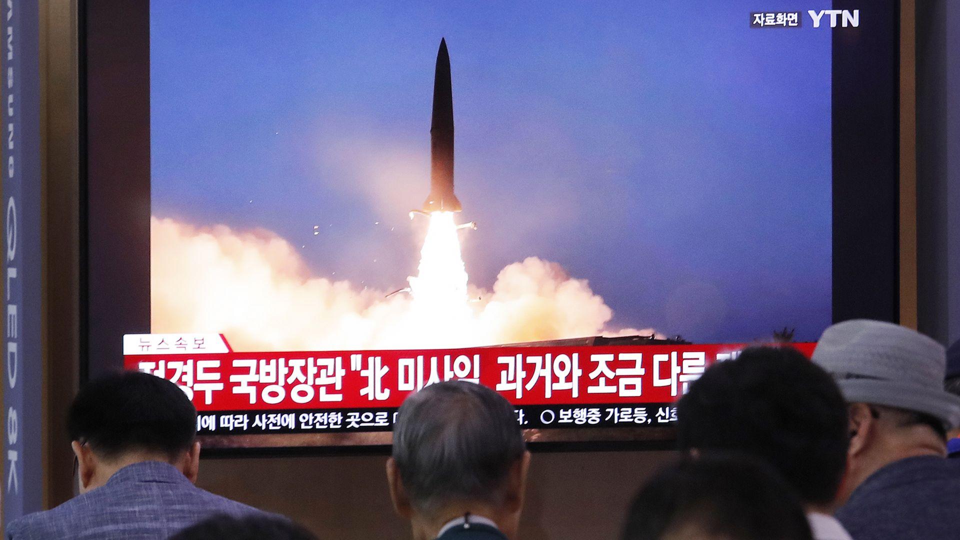 Северна Корея изстреля балистична ракета от подводница