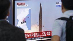 Северна Корея отново изстреля ракети към Японско море