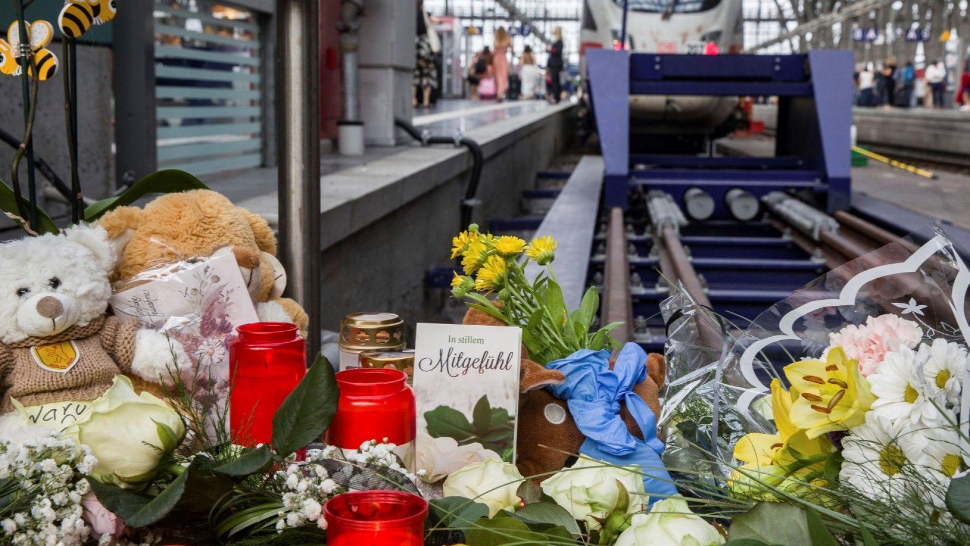 Еритреецът, убил дете на гара във Франкфурт, е с две обвинения