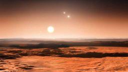 НАСА: Има планета, на която може да гледате троен залез