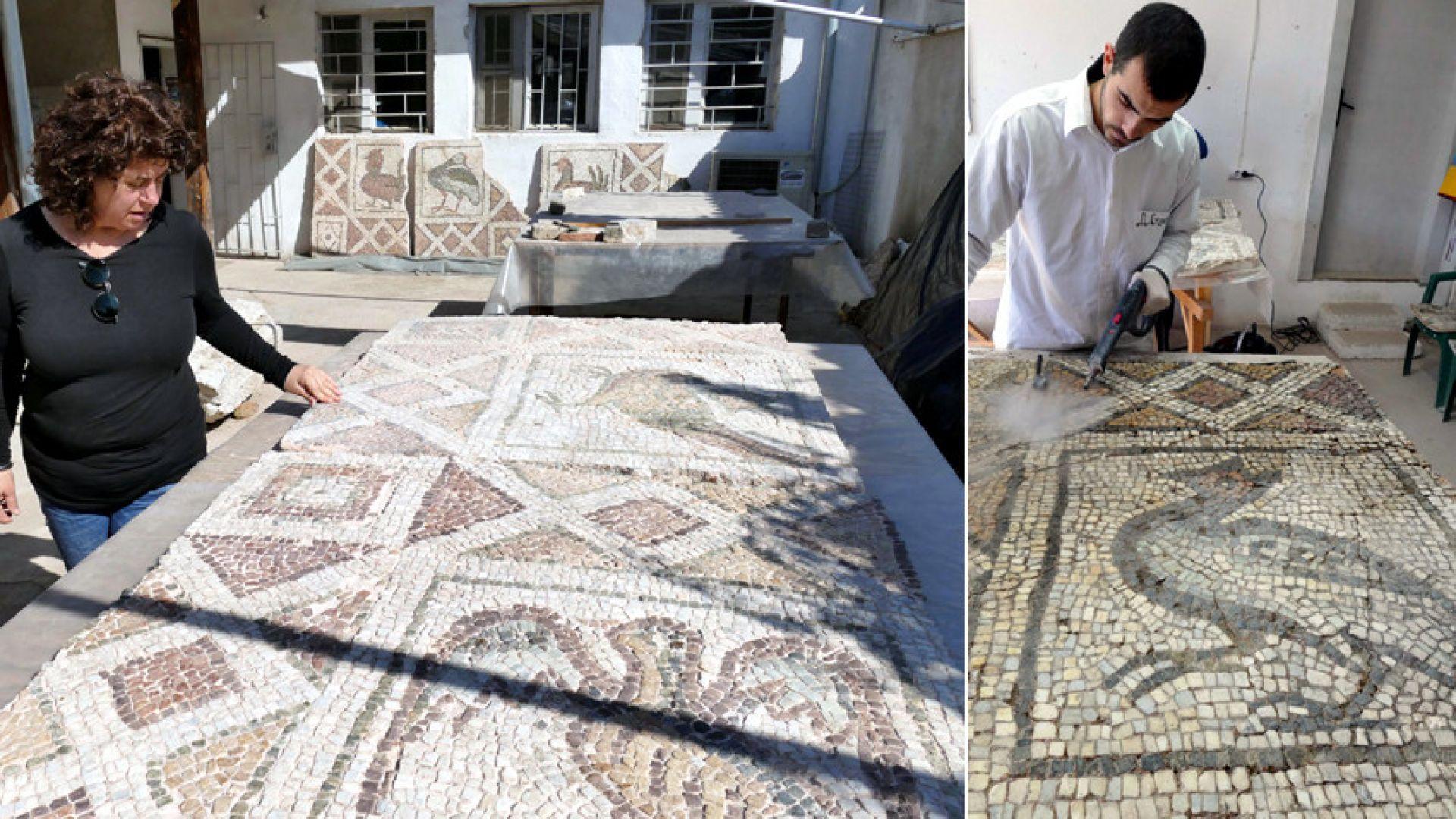 Връщат мозайките в Голямата базилика в Пловдив