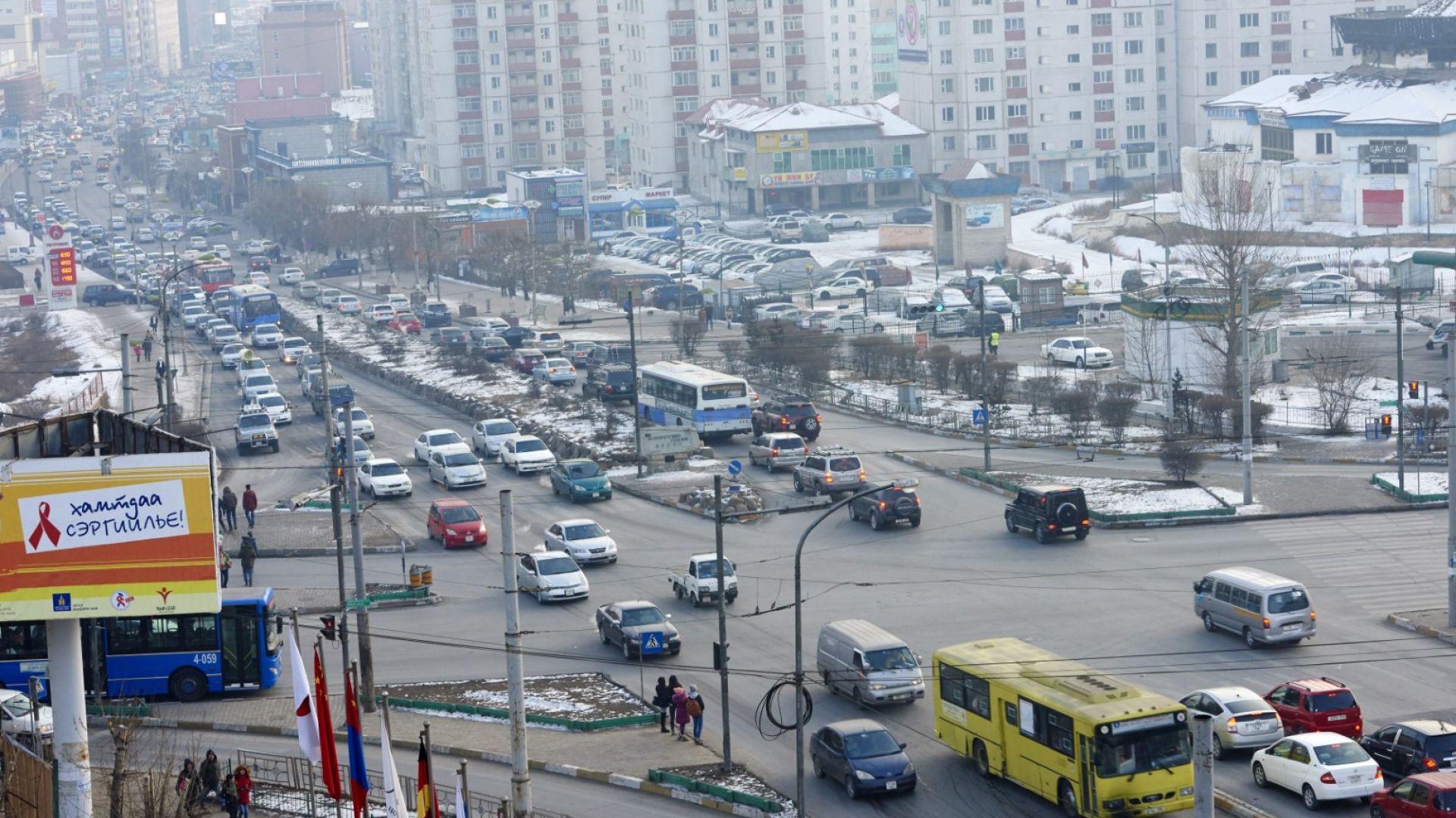 Димът от сибирските пожари достигна столицата на Монголия