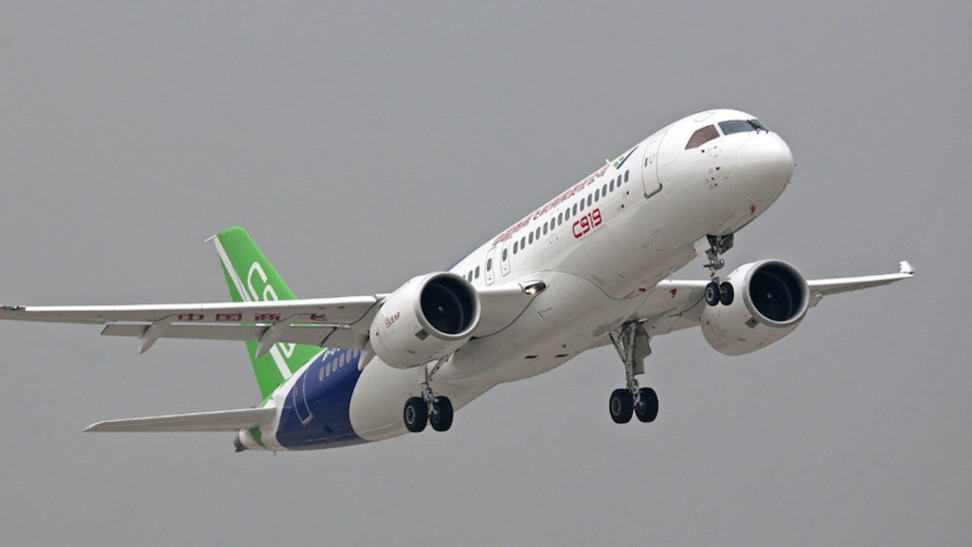 Китай напредва с алтернативата на Airbus A320