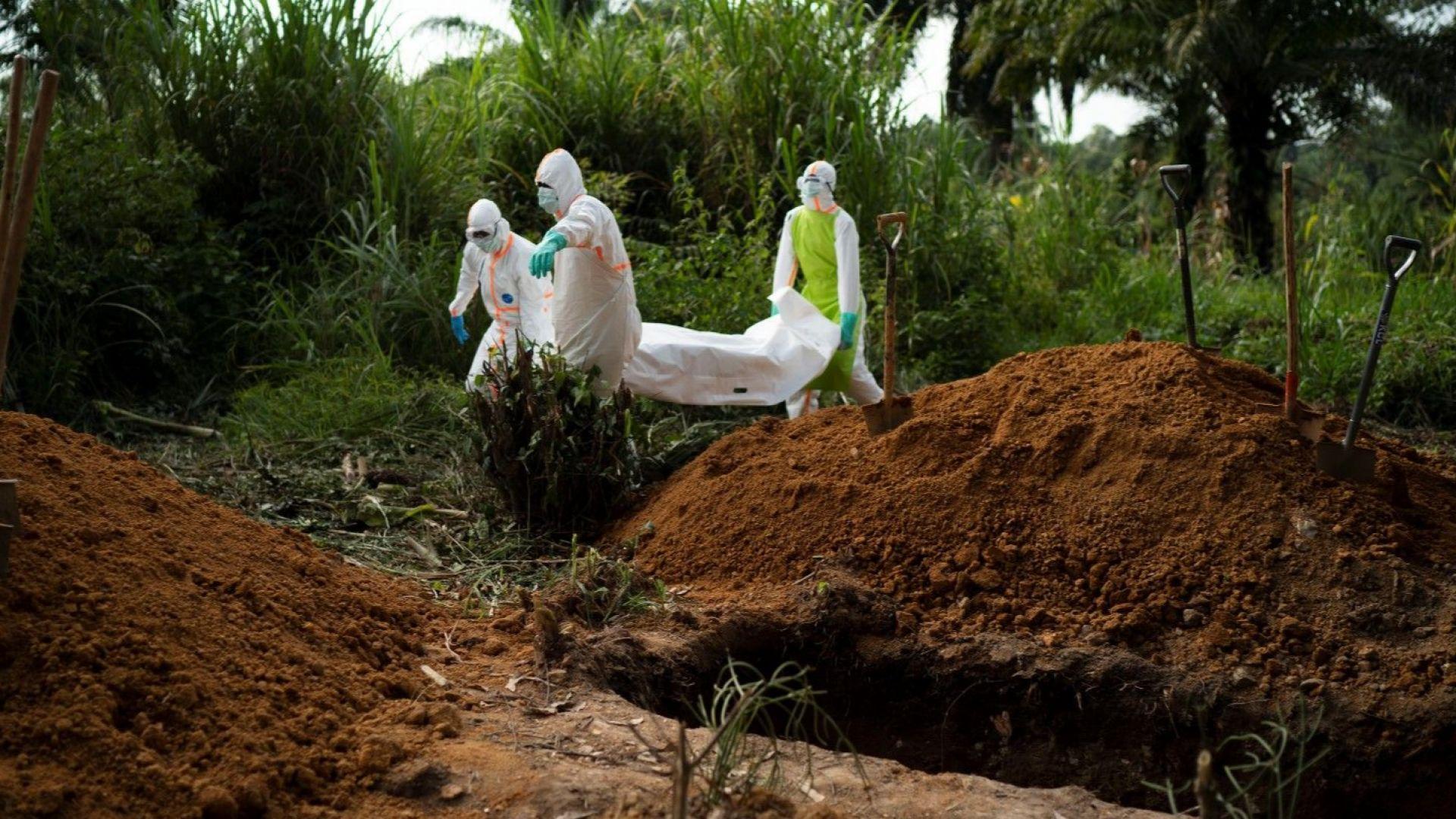 Руанда затвори границата с Конго заради взрива от ебола